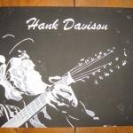 HANK DAVISON Merchandise - Holzdruck Manu Grube