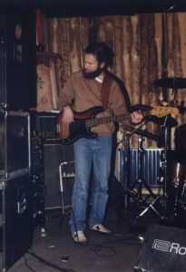 1990 - Augsburg (G) - Jazek Makarewicz (bass)