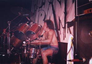 "1990 Augsburg (G) - Jan ""Mescalero"" Kiwior (drums)"