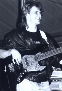 1992 - Mannheim (G) - Alex Klier (bass)