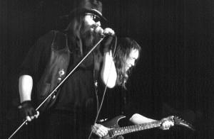 1996 - Augsburg (G) - Hank Davison (vox), Wolf Schludi (guitar, vox)
