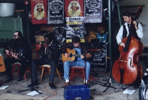1996 - Oberach (G) - Hank Davison (vox, guitar), Lewis Glover (harp, vox), Bob Ramirez (guitar, vox), Erbse Heinich (bass)