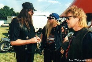 1996 - Regensburg (G) - Hank Davison, Dusty Hill, Frank Beard