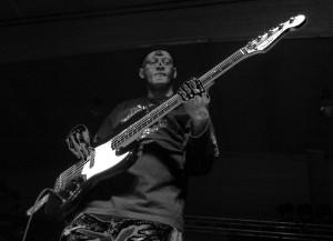 2005 - Wiener Neustadt (A) - Al Morris (bass) (Foto: Bijay)