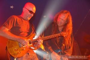 2007 - Königsbrunn (G) - Doc Reinelt (guitar), Wolf Schludi (guitar, vox)