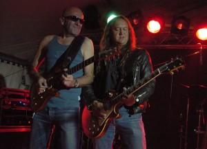 2007 - Sterzing (A) - Doc Reinelt (guitar), Wolf Schludi (guitar, vox)