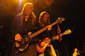 2008 - Augsburg (G) - Hart Basan (bass, vox), Wolf Schludi (guitar, vox)