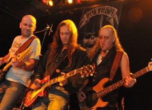 2008 - Augsburg (G) - Doc Reinelt (guitar), Wolf Schludi (guitar, vox), Hart Basan (bass, vox)