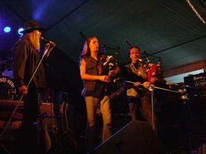 2008 Landsberg (G) - Hank Davison Band with scottish backpipes